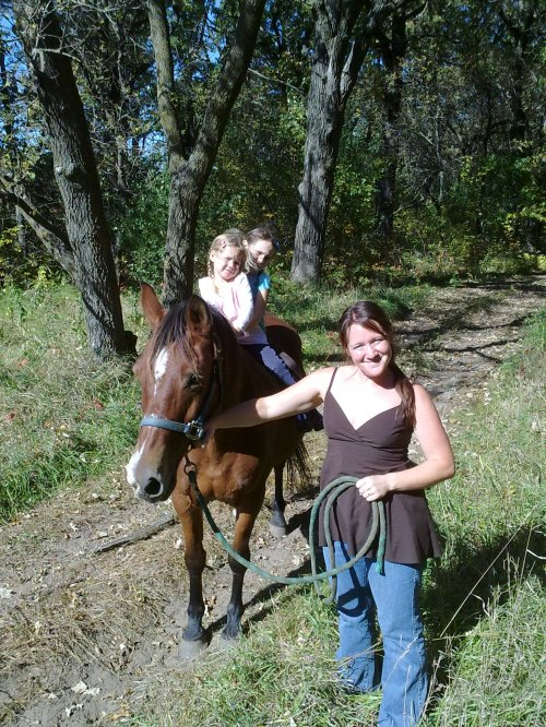 Horseback riding at Roselawn Stables
